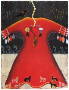 Coyote Calls to the Protectors (war dress)